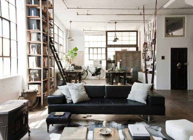 Einrichtung im industriellen Wohnstil \u2013 Ideen für loftartiges