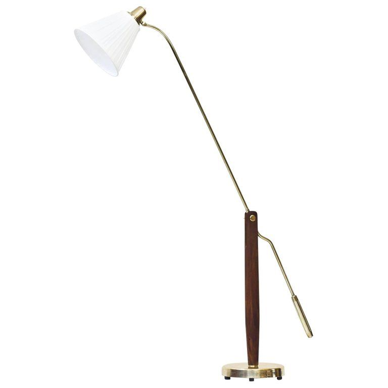 Rare Swedish 1940s Floor Lamp By Hans Bergstrom In 2020 Lamp Floor Lamp Modern Floor Lamps