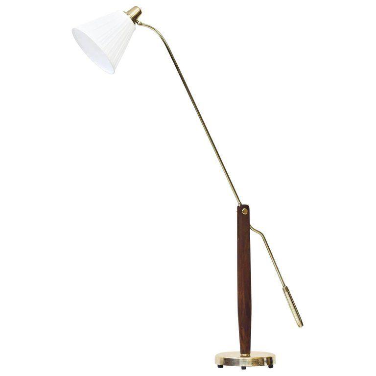 Rare Swedish 1940s Floor Lamp By Hans Bergstrom In 2020 Lamp Floor Lamp Modern Floor Lamps