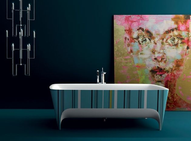 Pop bathtub, designed by Carlo Colombo for Teuco.
