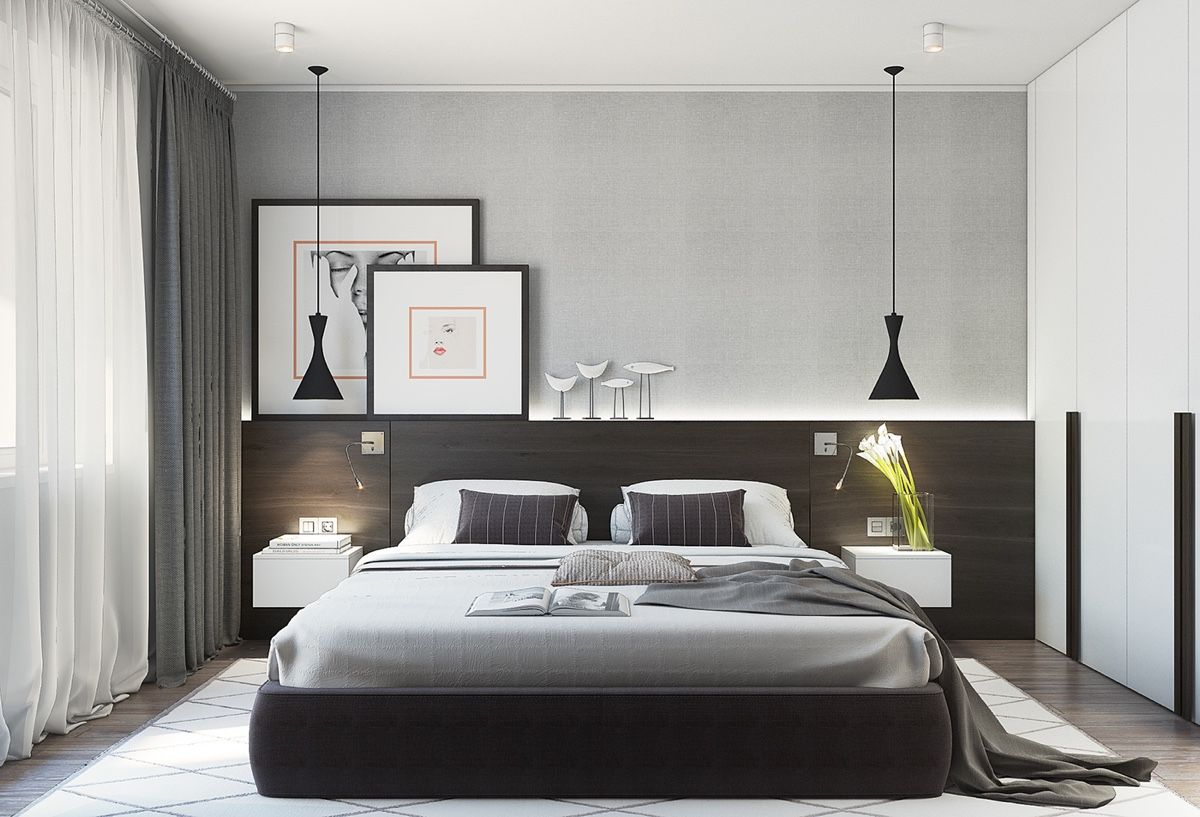 modern minimalist bedroom decor The Best Arrangement
