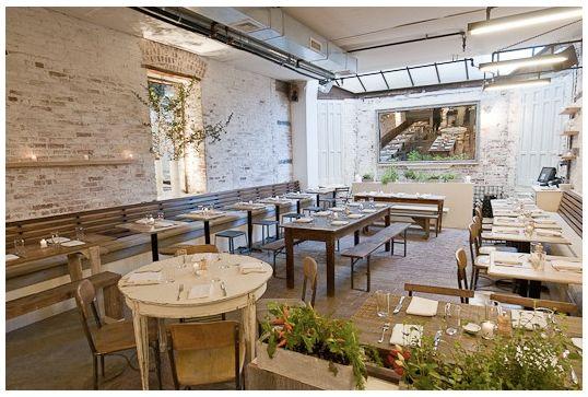 Rustic Modern Restaurant Bar