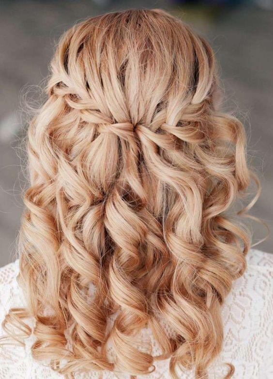 Coiffure De Mariée Demi Queue Hair Coiffure Mariage