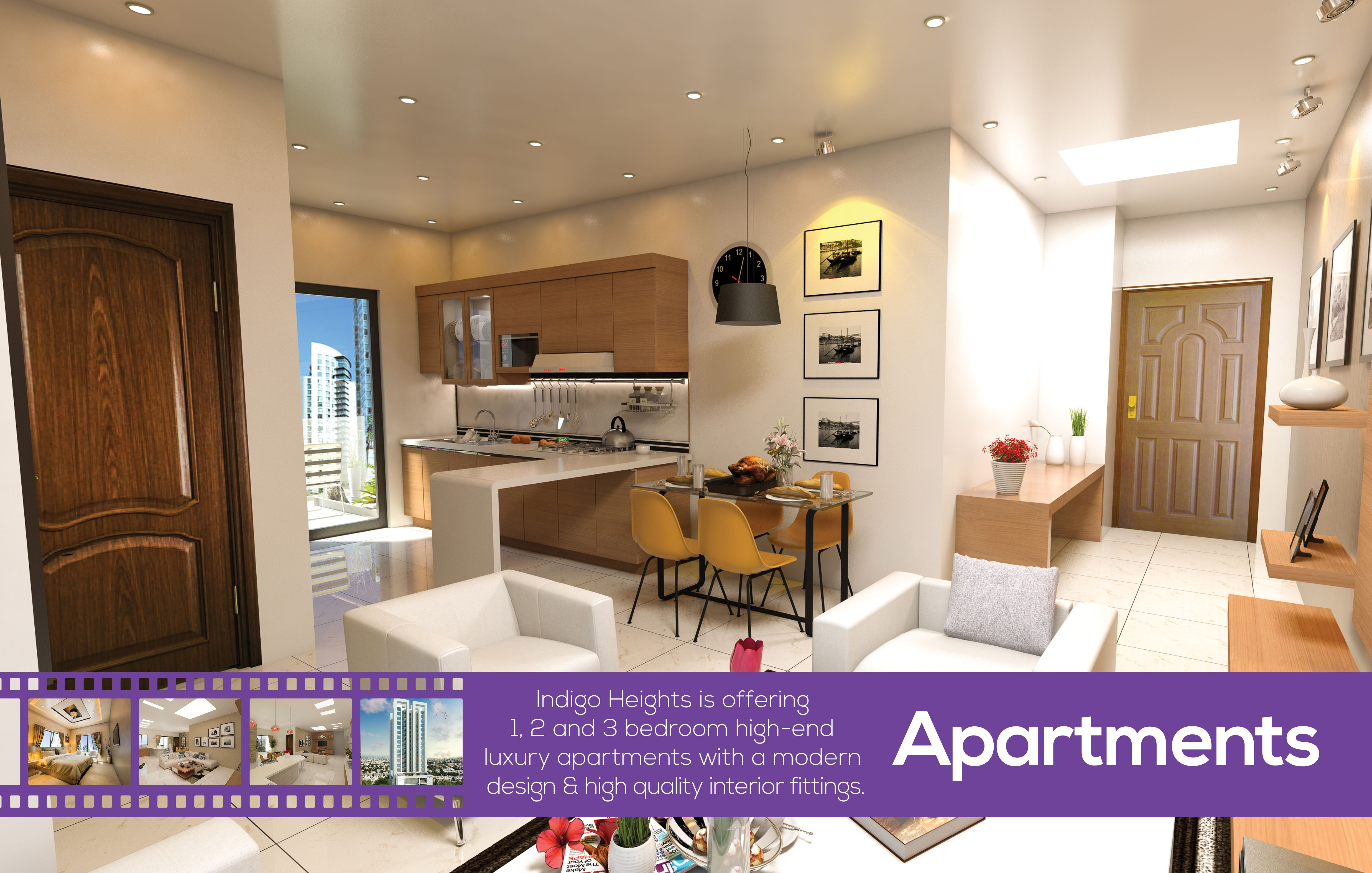 Luxury Apartments for sale on installment in Gulberg