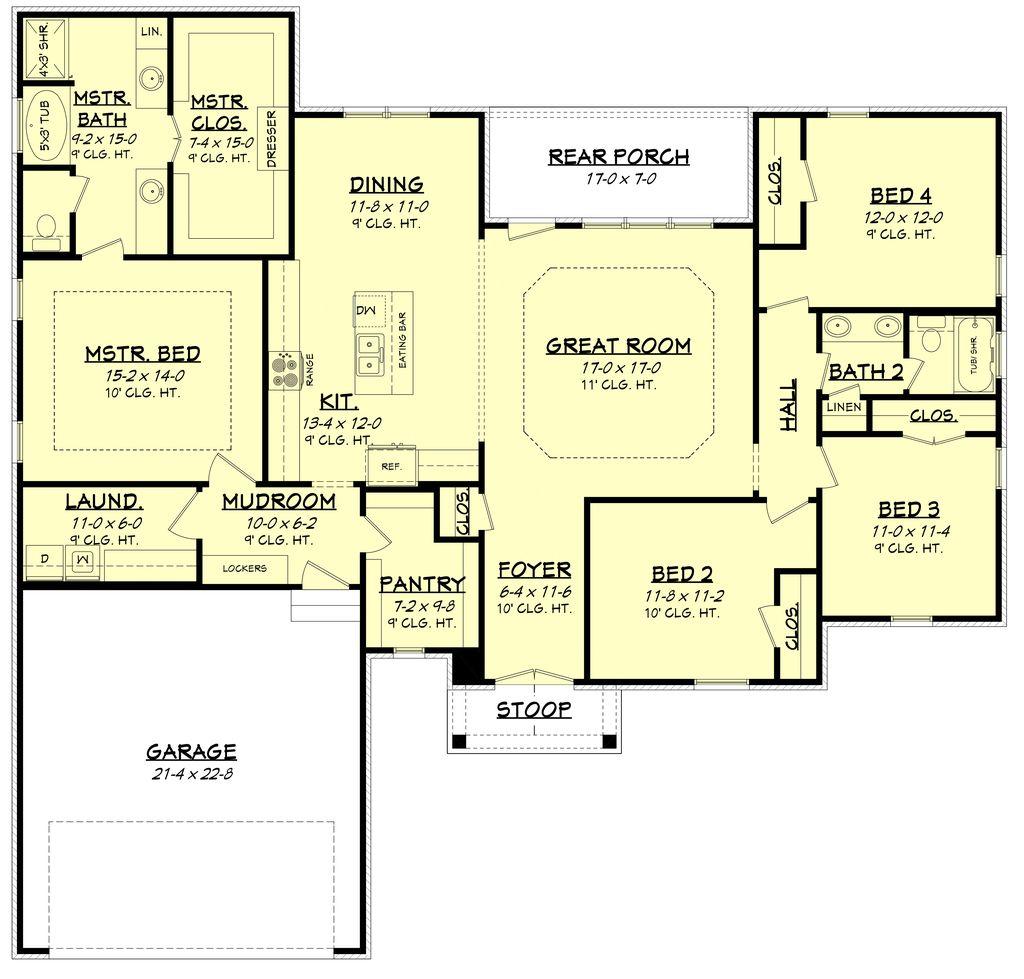 Plan houseplans floor plans pinterest house