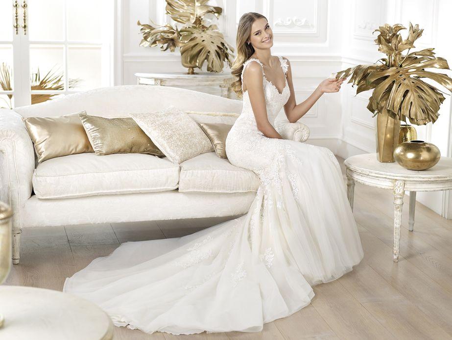 Land by Pronovias | Wedding gowns | Pinterest | Weddings