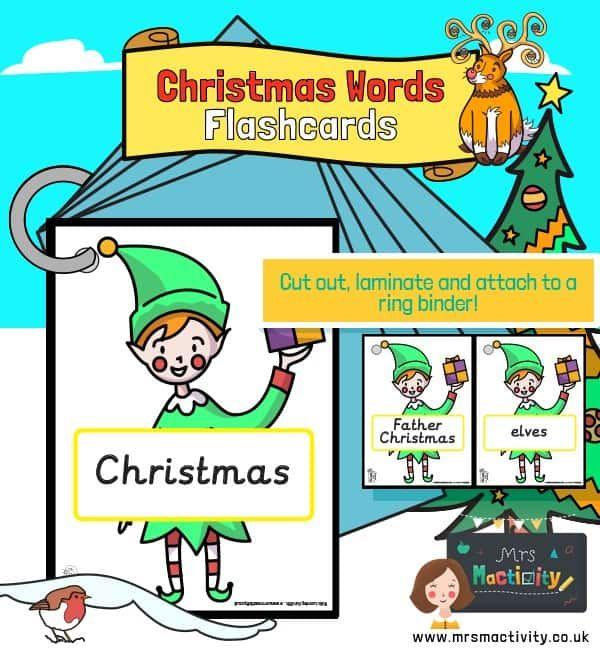 Christmas Words on Elves   Christmas words, Free christmas ...
