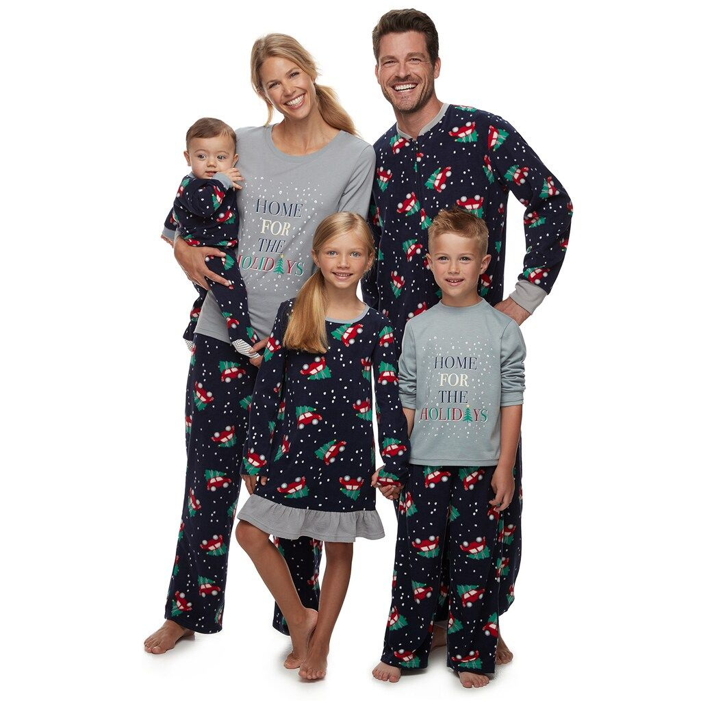 Jammies For Your Families Home For The Holidays Family