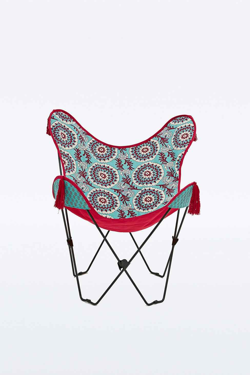 medallion butterfly chair cover home butterfly chair chair rh pinterest com