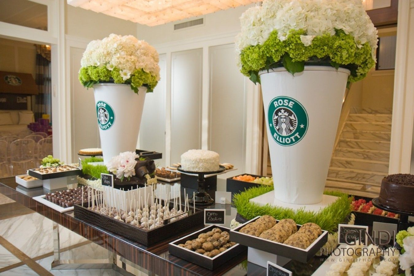 Doris Dwek Events Coffee Themed Party Coffee Party Starbucks Party