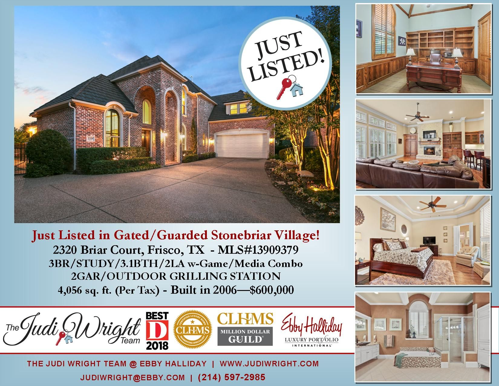 Imagine Living In A Gated Guarded Golf Course Community In Frisco W A Pool Spa Yard Blt In Grilling Station For Onl Outdoor Grill Station Frisco Spa Pool