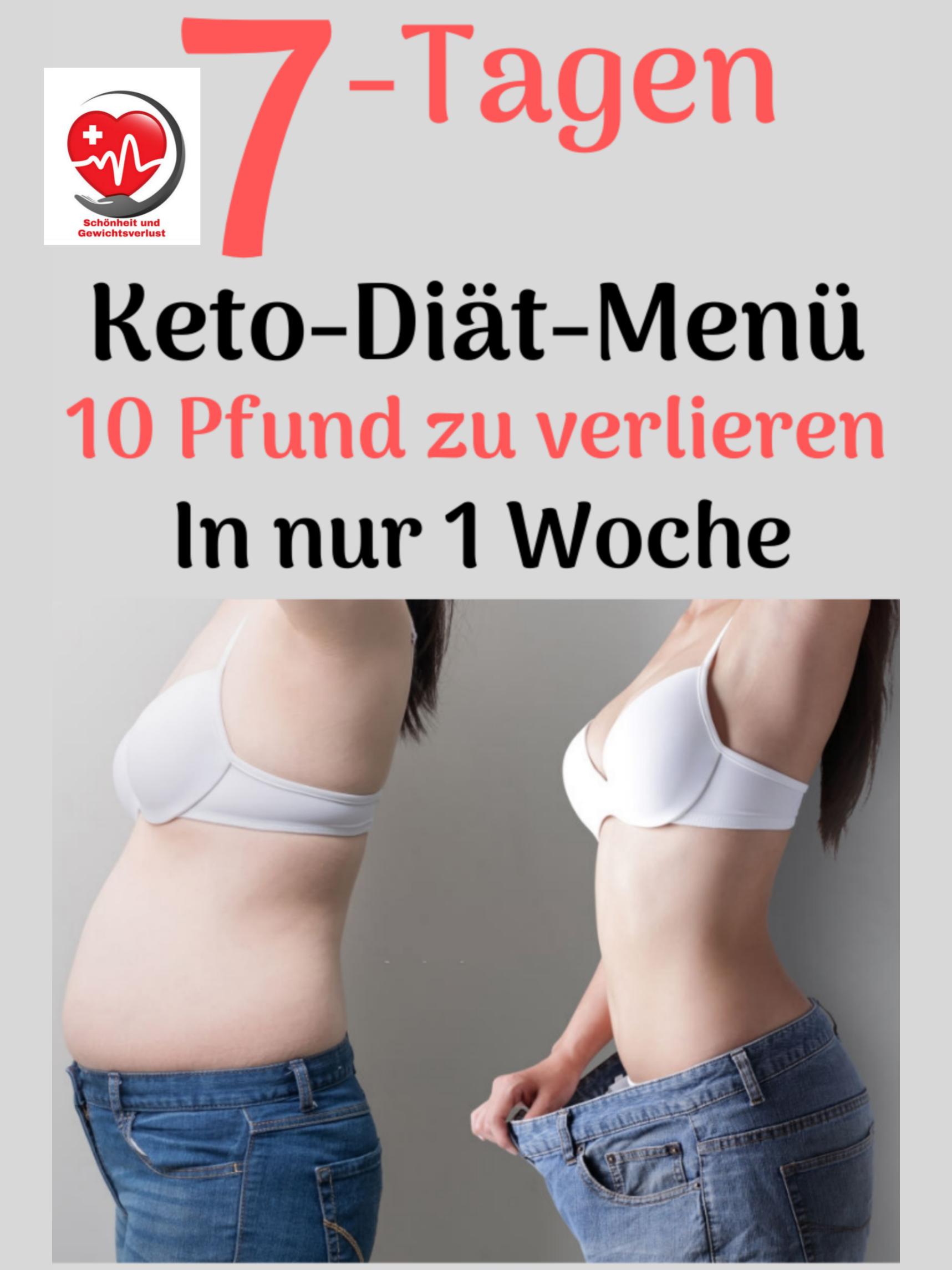 Diätmenü zur Gewichtszunahme