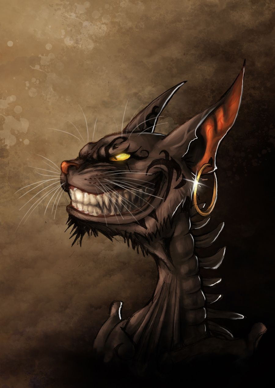 Alice madness returns - Cheshire Grin by ~fiszike on deviantART