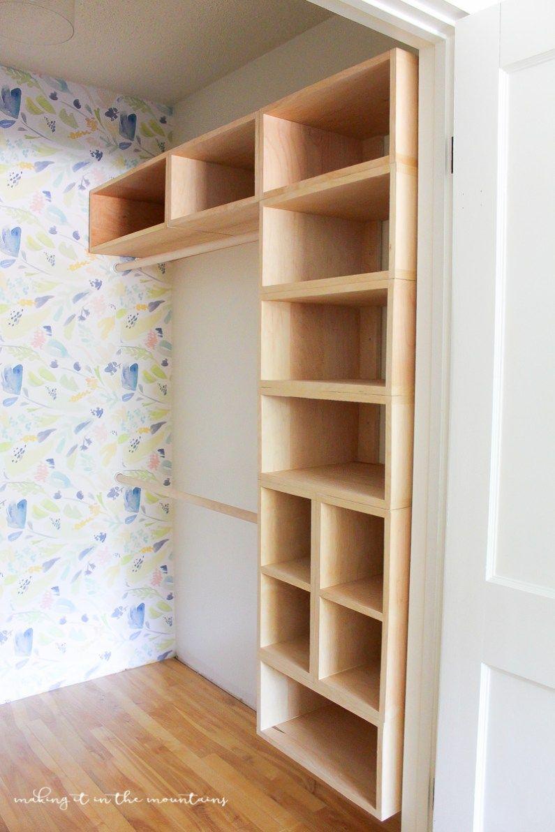 diy custom closet organizer the brilliant box system house diy rh pinterest com