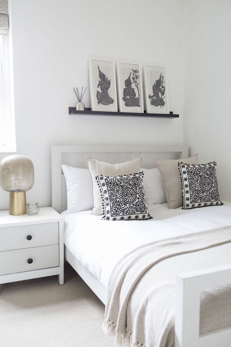 beautiful bedroom decor inspiration neutral scandi inspired room rh pinterest co uk