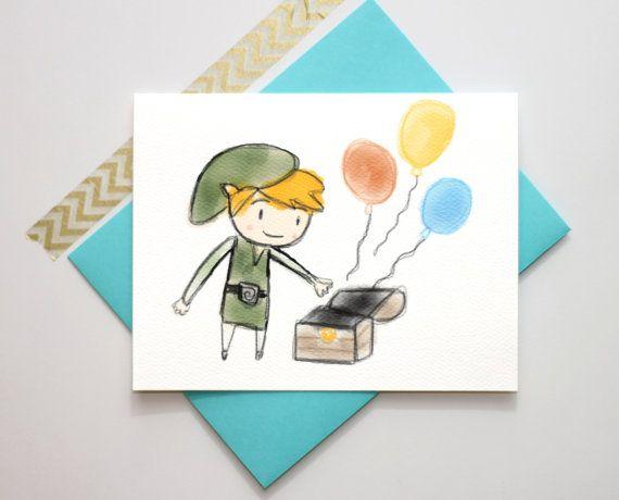 Happy Birthday Cards Snail Mail Legend Of Zelda Dean Winchester Fangirl Birthdays Hey I Found This