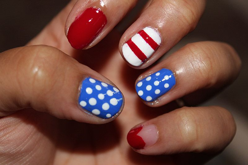 Ms de 50 uas decoradas del 4 de julio da de la independencia de easy toenail designs do it yourself solutioingenieria Images