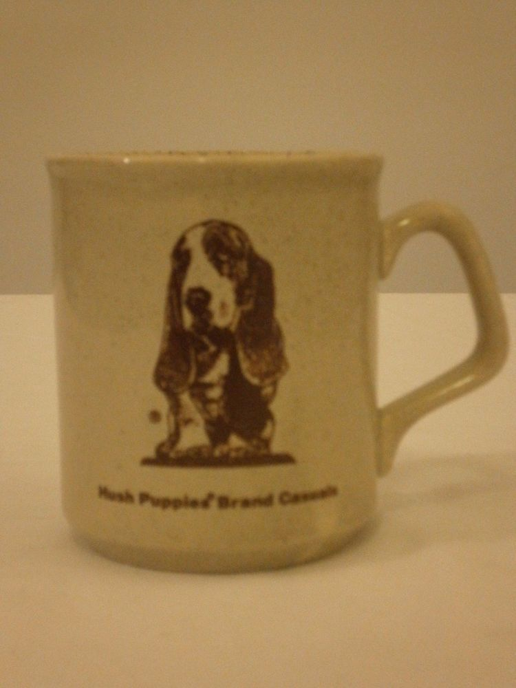Hushpuppies Mug 8oz Coffee Cup Beige Brown Specked Made In England Mugs Coffee Cups Hush Puppies