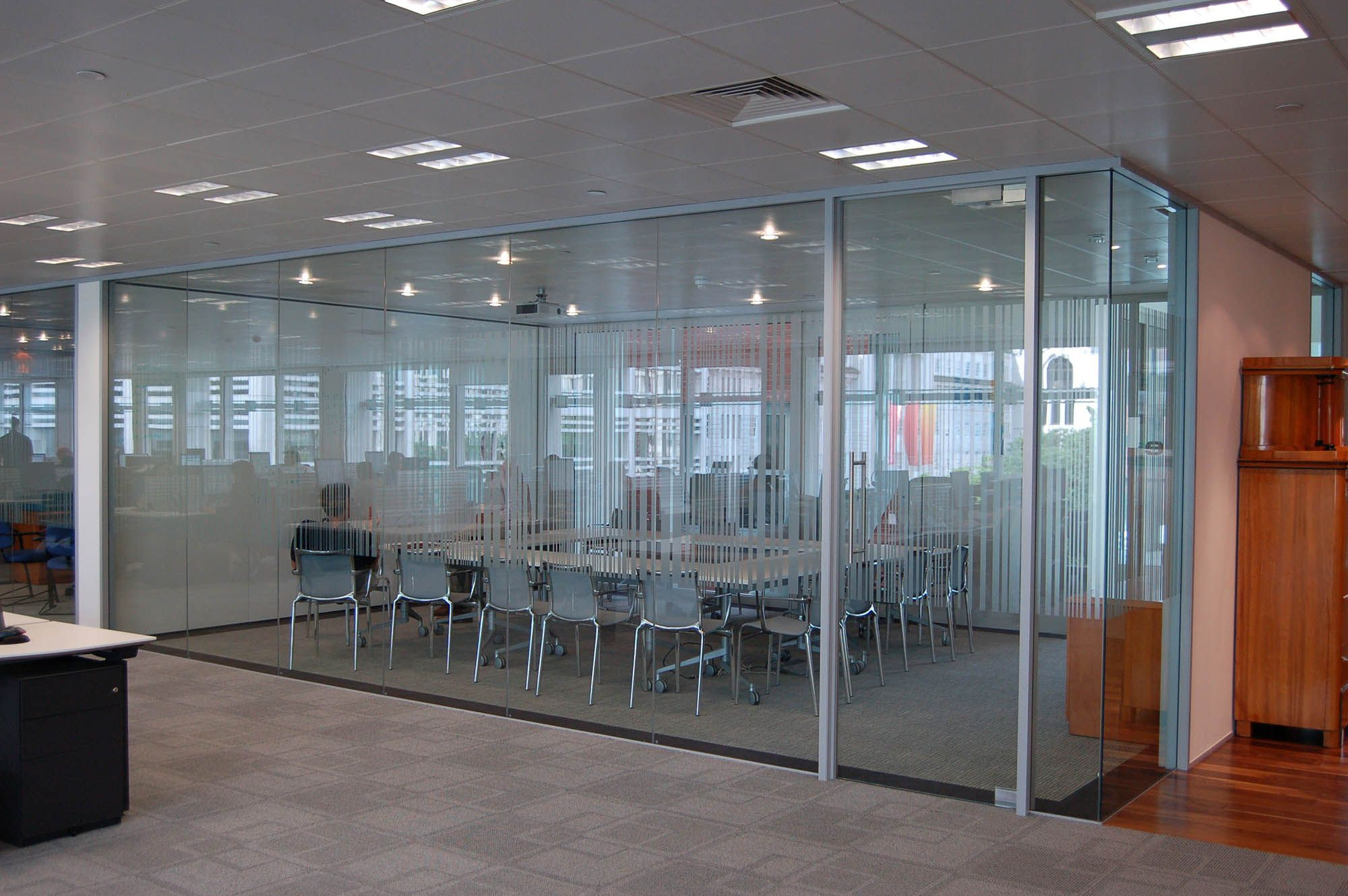 Glass Offices Architectural Simplicity Glass Partition Walls Glass Wall Systems Glass Partition Wall Glass Office