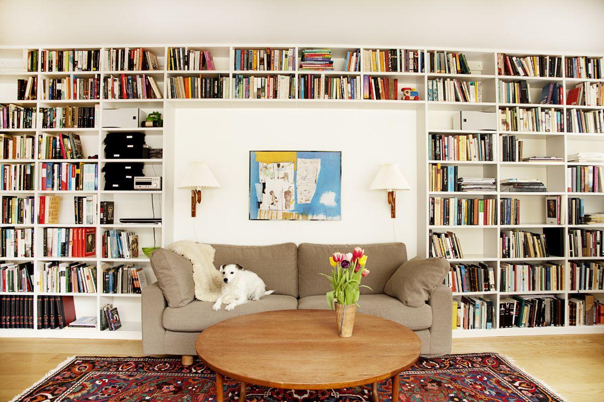 Platsbyggd bokhylla, Lund Rita upp din egen på www platsbyggdbokhylla se Våra platsbyggda