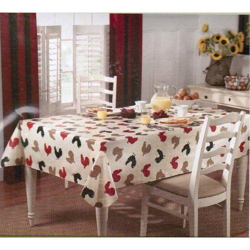 Paula Deen Rise N Shine Vinyl Tablecloth 70 Inch Round With Images Vinyl Tablecloth Table Cloth