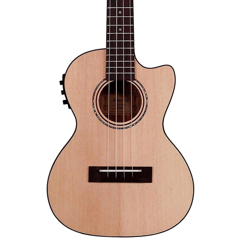 alvarez ru26tce tenor acoustic electric ukulele natural products rh pinterest com