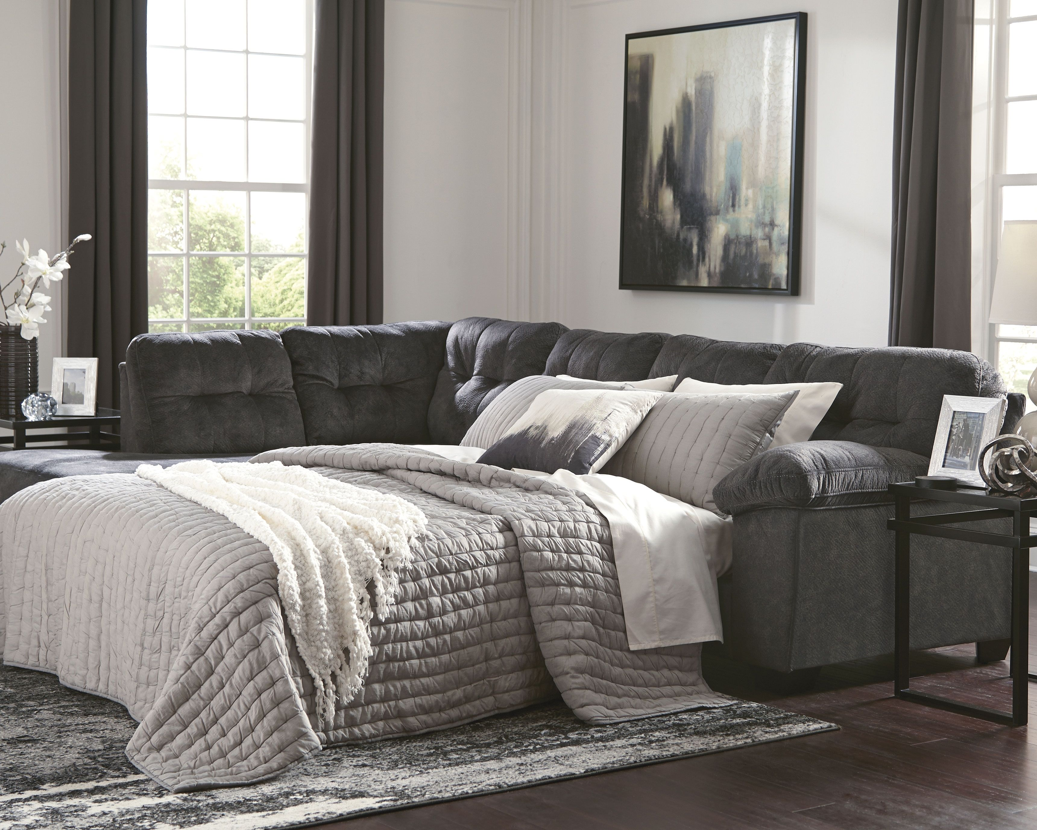 accrington 2 piece sleeper sectional granite products in 2018 rh pinterest com