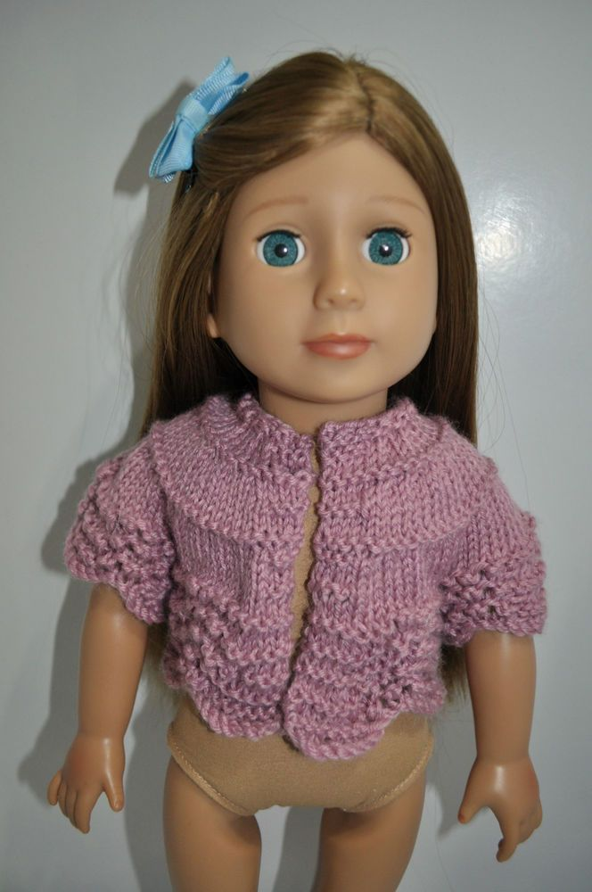 American Girl Doll Our Generation Journey Girl 18  Dolls Clothes Woolen Cardigan