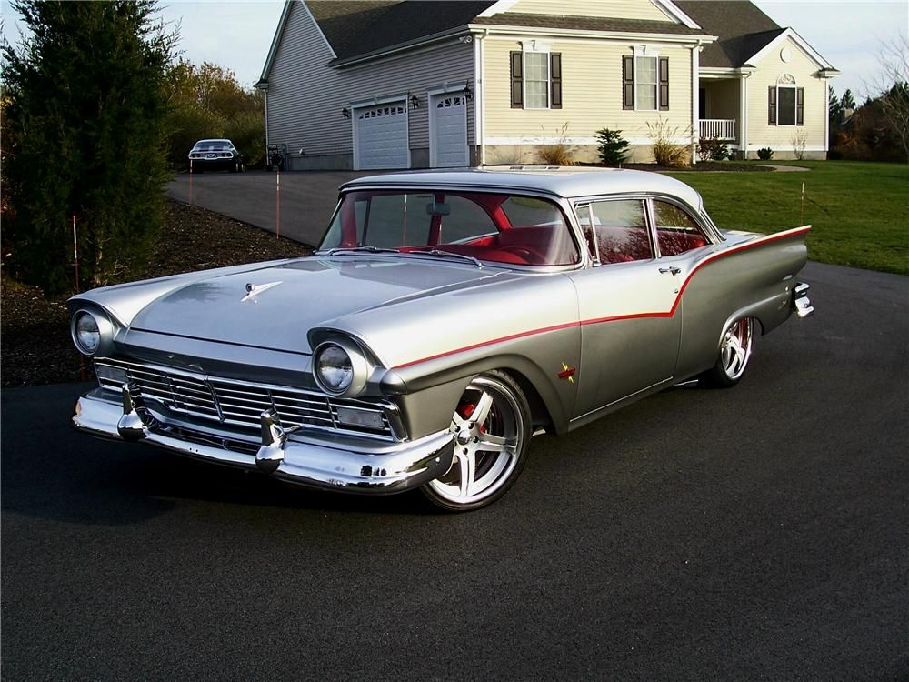 Covert Chevy Hutto >> 57 ford fairlane | Barrett-Jackson Lot: 1260.3 - 1957 FORD FAIRLANE CUSTOM 2 DOOR SEDAN | sparky ...
