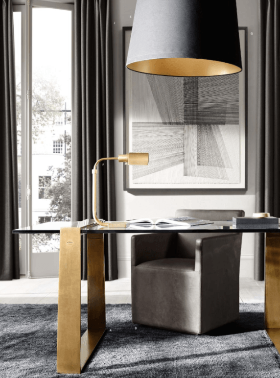 Restoration Hardware Modern | Home office chairs, Interior ...