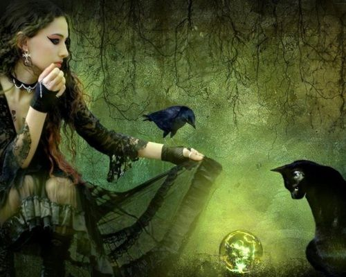 """The animals spoke to her and she listened... """"Magic moment"""" by *aninur"""