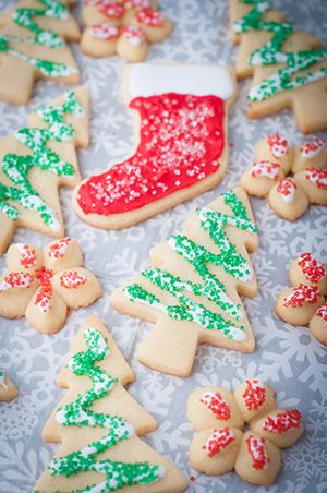 Mom S Christmas Butter Cookies For Decorating Recipe Food
