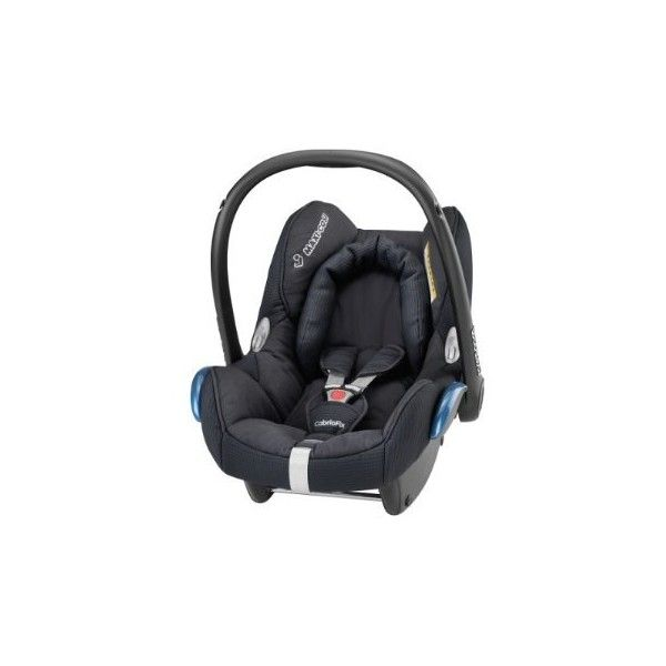 Maxi Cosi Cabriofix Baby Car Seat Total Black Mothercare 185 Liked On Polyvore Featuring Baby And Baby Stuff Baby Car Seats Car Seats Maxi Cosi