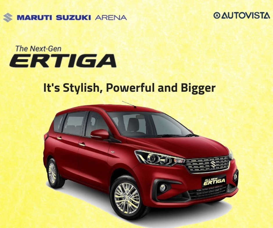 Maruti Suzuki Arena Next Gen Ertiga Is Now Launched With All New