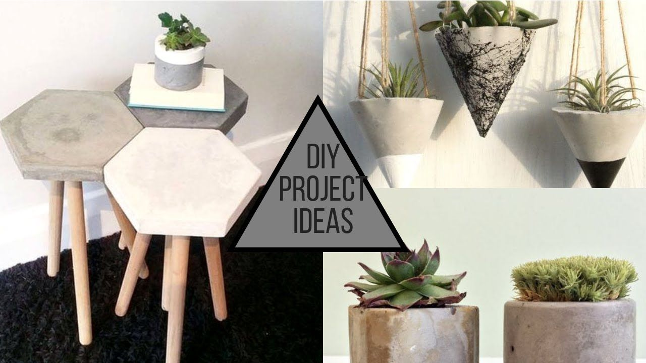 2019 Cool Cement DIY Projects Ideas YouTube Cement diy