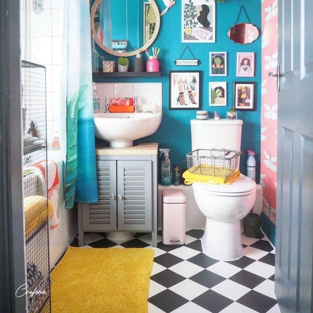 13 Awesome Small Bathroom Ideas Crafome Bathroom Interior Design Bathroom Decor Small Bathroom Home decor dream decorate small bathroom