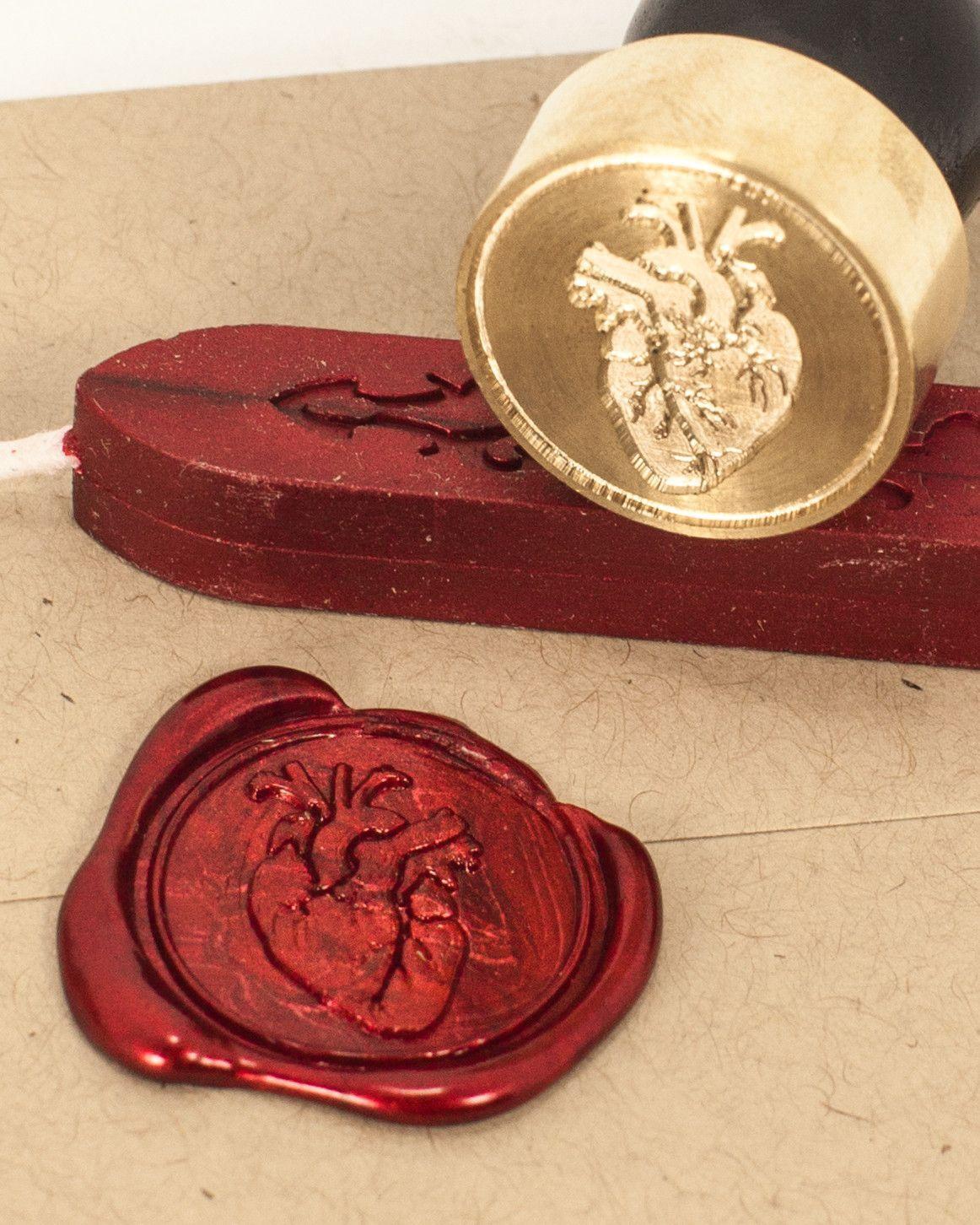 Anatomical Heart Wax Seal Kit   Anatomical heart, Wax seals and ...