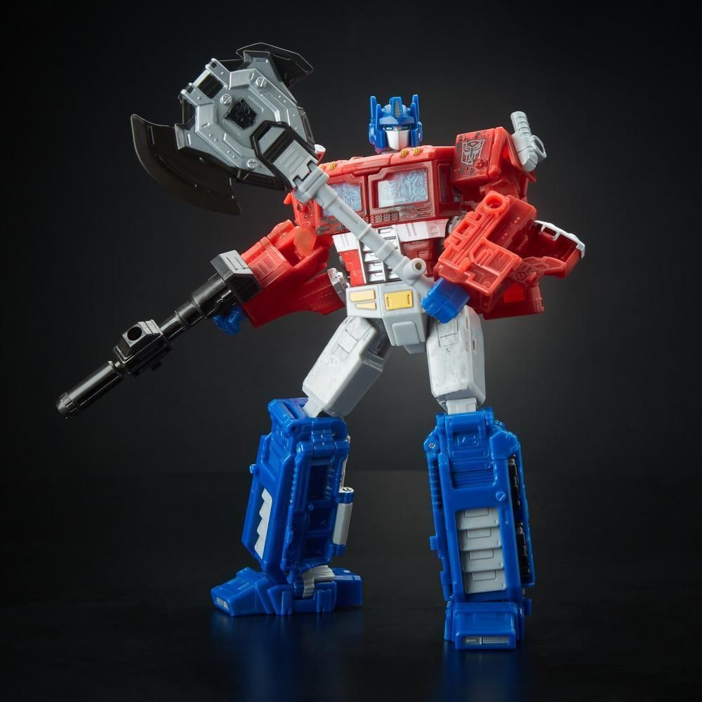 TRANSFORMERS Generations War for Cybertron Siege Voyager Optimus Prime FIGURE