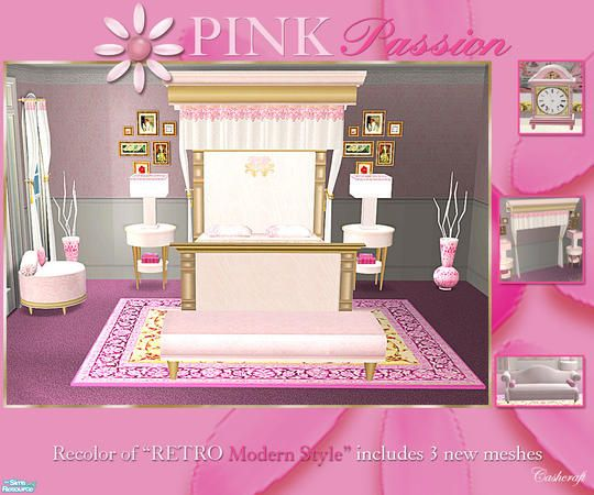 cashcraft's Pink Passion Bedroom
