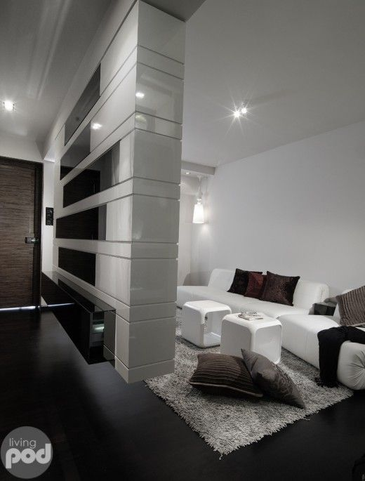 3 Room Hdb Interior Design Ideas: Stylish 3 Room HDB Apartment