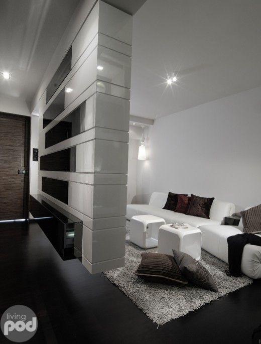 Cool Hdb Interior Design: Stylish 3 Room HDB Apartment