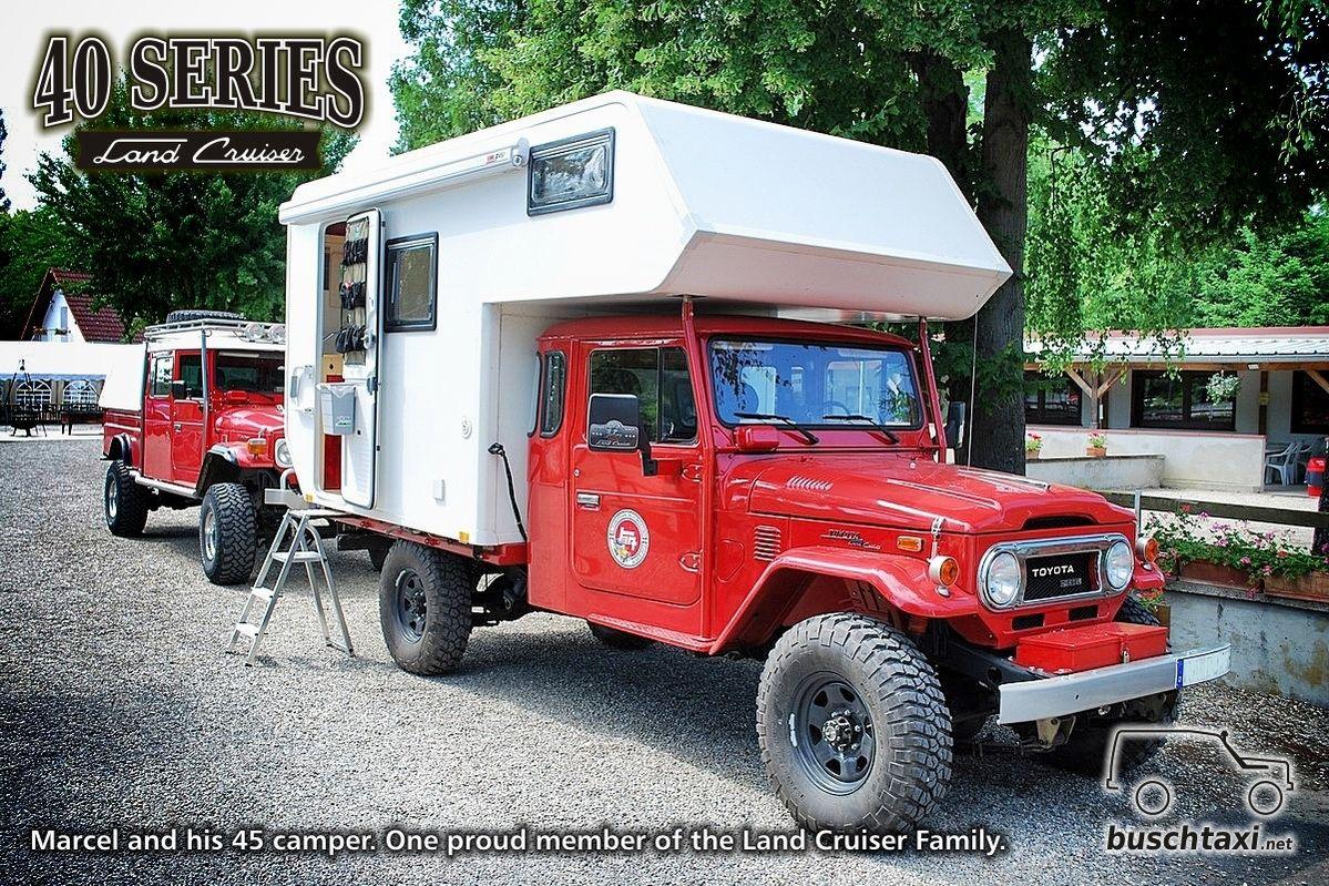 marcel and his land cruiser 45 camper one proud member of. Black Bedroom Furniture Sets. Home Design Ideas