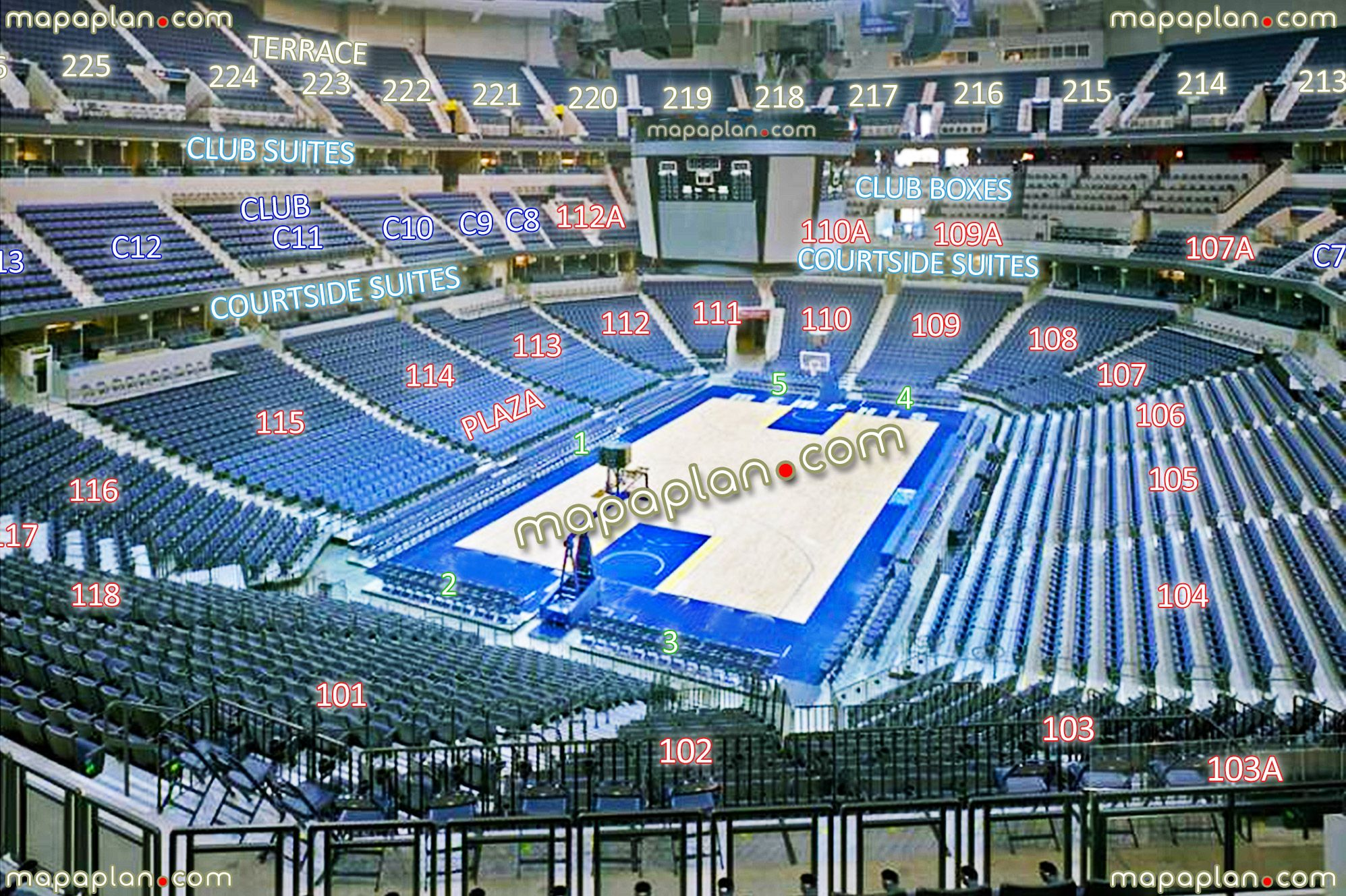 grizzlies virtual seating chart: View section 102 row hh seat 6 grizzlies basketball games