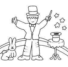 Resultado De Imagem Para Desenhos Para Colorir Circo Magico