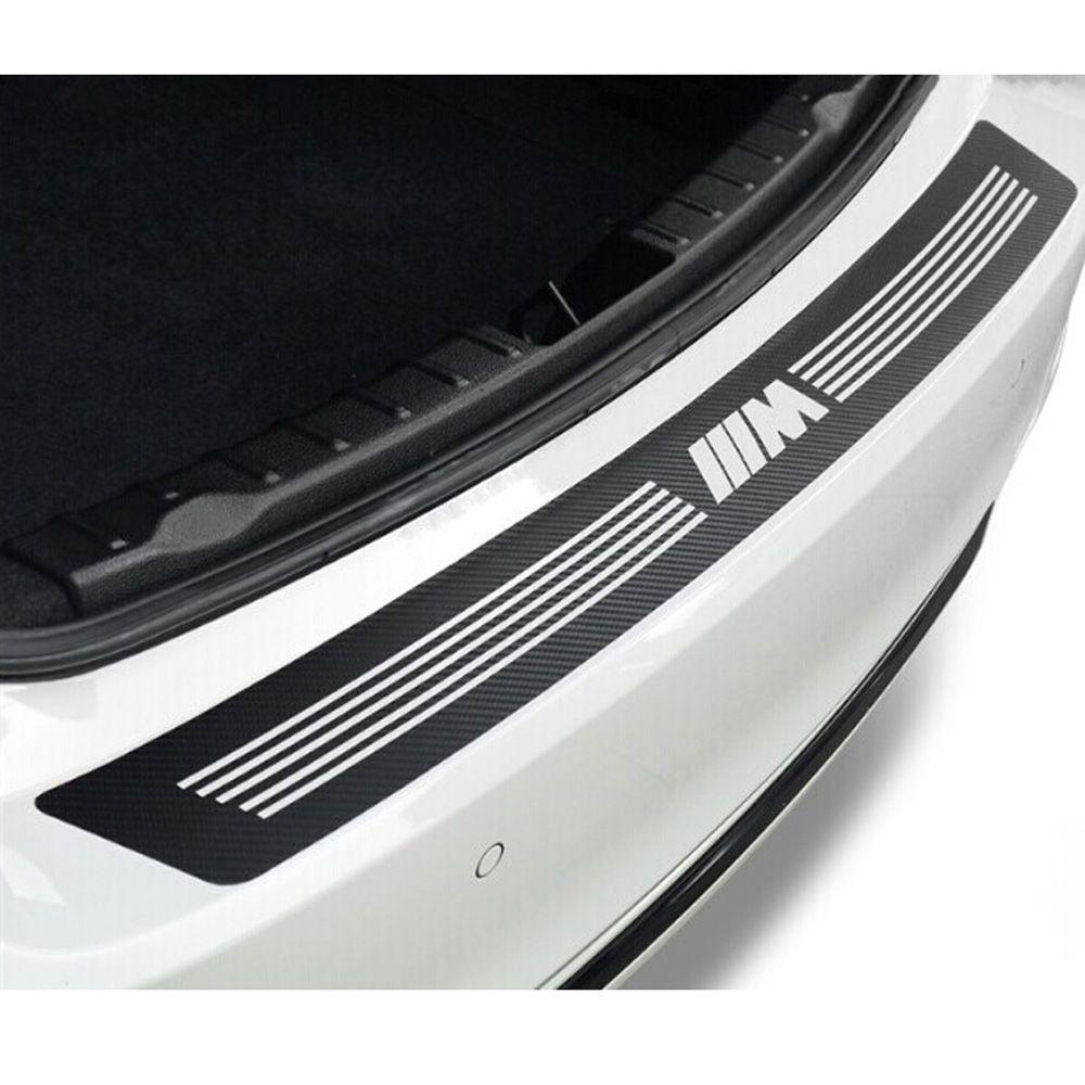 Kaufen M Carbon Fiber Pattern Auto Heckbügel Aufkleber M