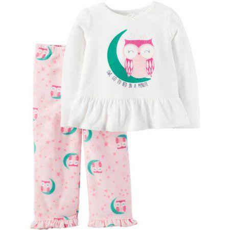 Child of Mine By Carter s Baby Toddler Girl Pajamas 2 Pieces ad483d38783