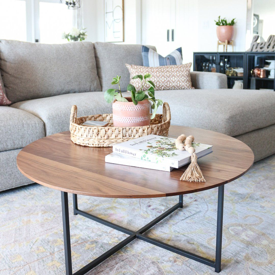 Room & Board - Classic Coffee Tables in Natural Steel - Modern Coffee Tables - Modern Living Room Furniture