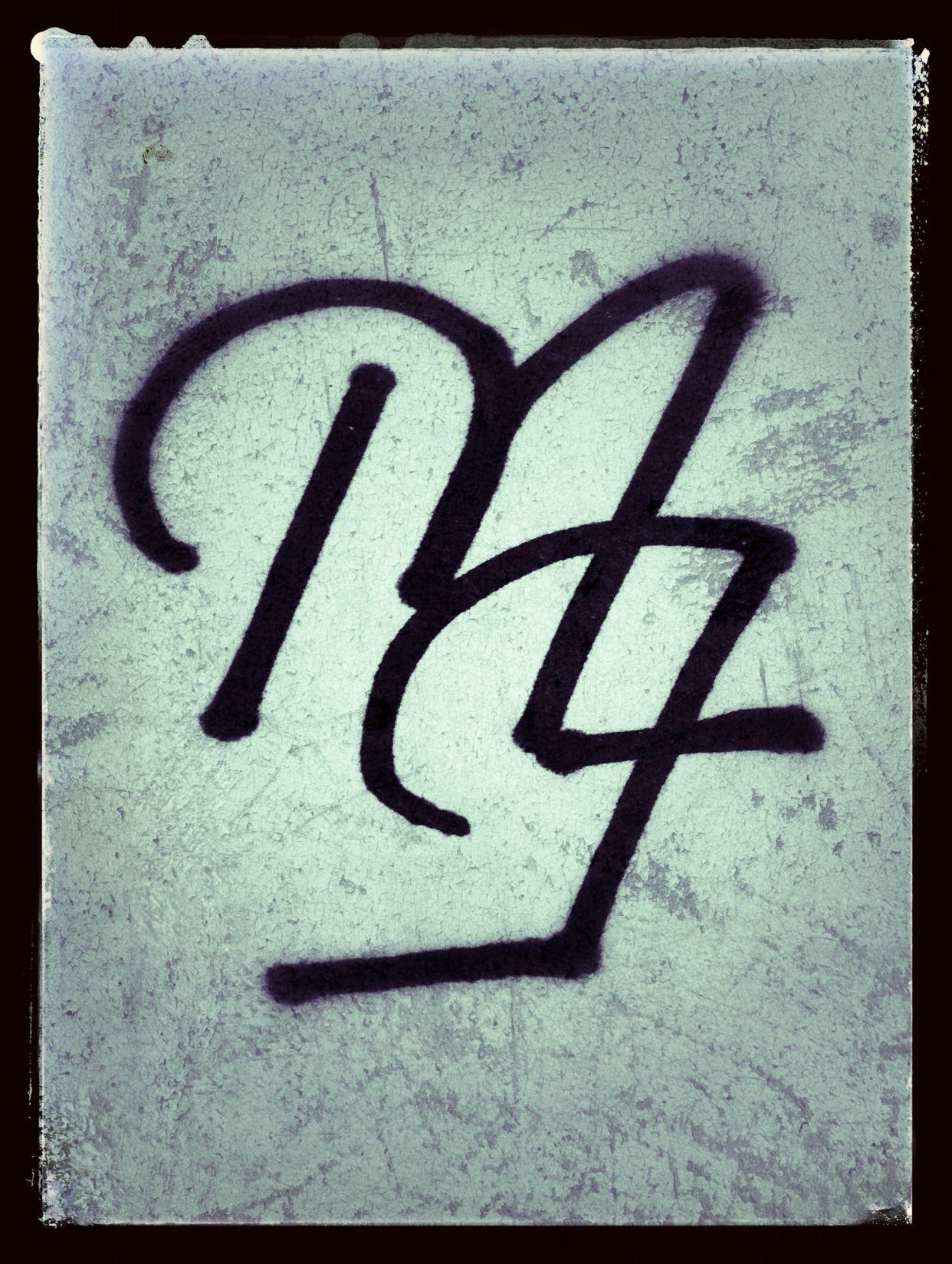 Pin De Xue Hanzhi Em Signature Monogram F alphabet wallpaper hd