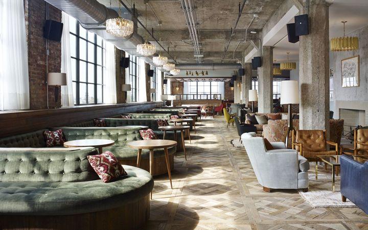 soho house chicago usa hotel bar restaurantes interiores rh pinterest es