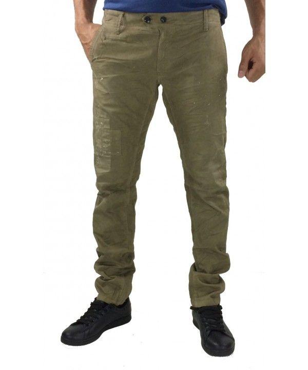 Υφασμάτινο chinos παντελόνι 46-Maison 1 (Λαδί)  ανδρικαπαντελονια  άνδρες   ανδρικήμόδα  menswear  fashion 505dd6837a3